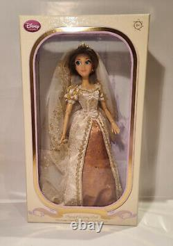 Disney Limited Edition Doll Tangled Jamais Après La Marque New In Box Non Ouvert