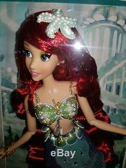 Disney Limited Edition Of 6000 Poupée Ariel Neuve N ° 90 Sur 6000