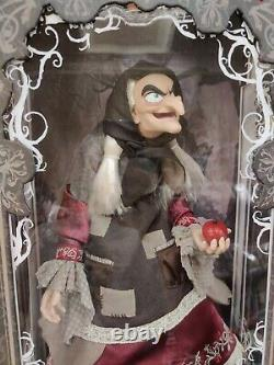 Disney Store D23 2017 Blanche-neige Vieux Hag Limited Edition Doll 17 Flambant Neuf