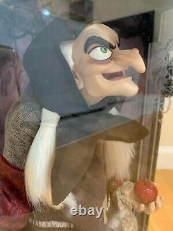 Disney Store D23 2017 Blanche-neige (old Hag) Limited Edition Doll 17 Marque Nouveau