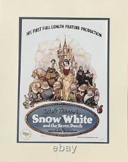 Disney Store Édition Limitée 1 De 5000 Blanche-neige Poupée De 17 Pouces Flambant Neuf
