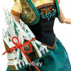 Disney Store Fever Fever Anna Limited Edition De 5000 17 'poupée Tout Neuf Dans La Boîte