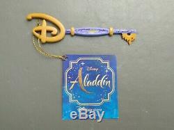 Disney Store Key Aladdin Film Limited Edition Exclusive 2019 Marque Neuf Avec Des Étiquettes