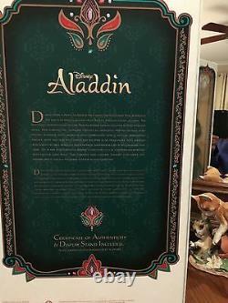 Disney Store Limited Edition Aladdin Jasmine Dold Nouvelle Boite Sceldée Le 5000