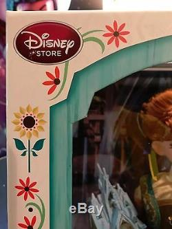 Disney Store Limited Edition Frozen Fever Anna Doll 17 Marque Nouveau Dans La Boîte