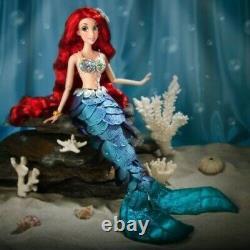 Disney Store Little Mermaid Ariel Limited Edition Doll 17 Flambant Neuf