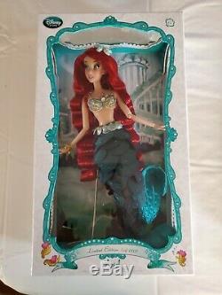 Disney Store Petite Sirène Ariel Limited Edition Doll 17 Marque Nouveau Le 5000 Htf