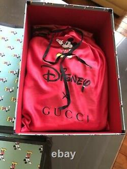 Disney X Gucci Sac À Bucket Edition Limitée. Marque Neuve Avec Récépissé