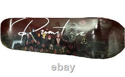 Edition Limitée Primitive X Naruto Akatsuki Clan Skateboard Deck Flambant Neuf