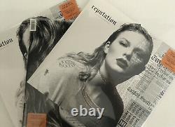Ensemble De 3 Nouvelles Marques Taylor Swift Reputation Limited Edition Fyeorange 2x Vinyl Lp
