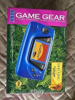 Extrêmement Rare Brand New Limited Edition Lion King Sega Game Gear