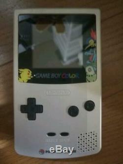 Game Boy Color Pokemon Center Édition Limitée (tout Neuf)