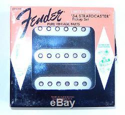Genuine Fender Stratocaster'54 1954 Édition Limitée Ensemble De Ramassages Neuf Rare