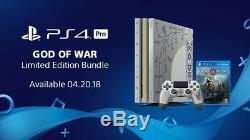 God Of War Ps4 Pro Limited Edition Bundle Marque Nouveau