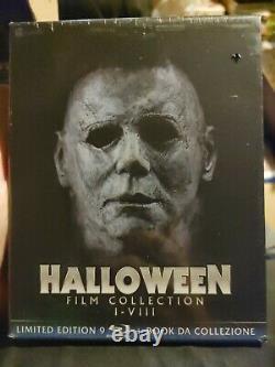 Halloween Film Collection Bluray 1-8 Édition Limitée Région B Importer Tout Nouveau
