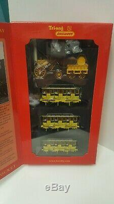 Hornby R3809 Stephenson Rocket Centenaire De Limited Edition Train Pack, Tout Neuf