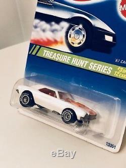 Hot Wheels 67 Camaro White 1995, Voiture De Chasse Au Trésor Graal, Neuve Avec Protecteur