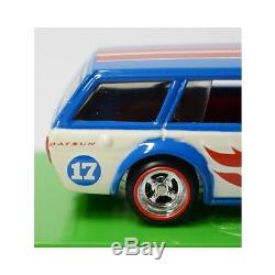 Hot Wheels'71 Datsun Bluebird 510 Wagon 2017 Convention Du Brésil 164 Nouveau