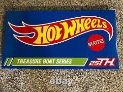 Hot Wheels Rlc Super Treasure Hunt Set 2020 Le 0573/1300, Flambant Neuf Scellé