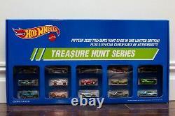 Hot Wheels Rlc Super Treasure Hunt Set 2020 Le 1300, Flambant Neuf