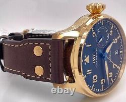 Iwc Big Pilotes Du Patrimoine Montre Bronze 46 MM Case Marque New Iw501005