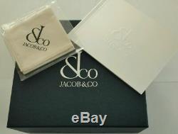 Jacob & Co Gmt8ss Limited Edition Carbon Fiber 32 Time Zone Automatique Marque Nouveau