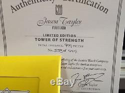Jason Taylor Invicta Réserve De 53mm Hommes Chronographe Brand New