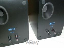 Kef Ls50 Limited Edition Noir Frost / Bleu Woofer Neuf Livraison Gratuite