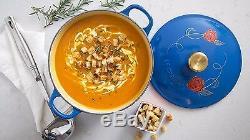 Le Creuset La Belle Et La Bête Soup Pot Limited Edition-disney- Neuf