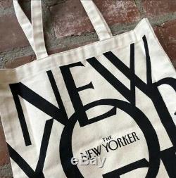 Le New Yorker Tote Tout Neuf Et Scellé Navire Édition Originale International
