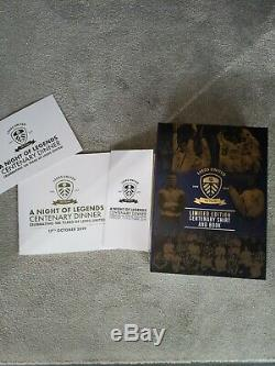 Leeds United Centenary Shirt & Livre (1919-2019) Brand New In Box Limited Edition