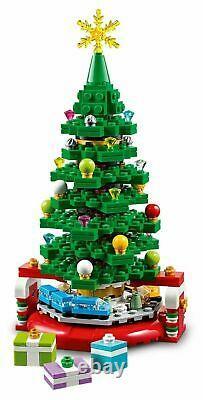 Lego 40338 Christmas Tree Exclusive Limited Edition Set Flambant Neuf Dans La Boîte
