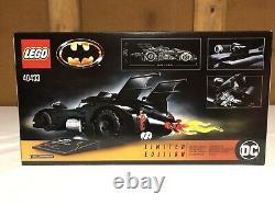 Lego Limited Edition 1989 Batmobile 40433 Flambant Neuf Scellé