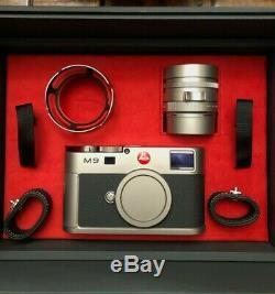 Leica M9 Titanium Titan Summilux-m Édition Limitée / Brand New Mint / Relisted