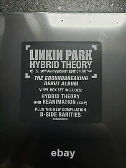 Linkin Park Hybrid Theory (20th Anniversary) (4xlp Box Set) Vinyle Flambant Neuf