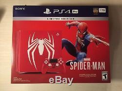 Livraison Gratuite Spiderman Ps4 Pro Limited Edition 1to Neuf