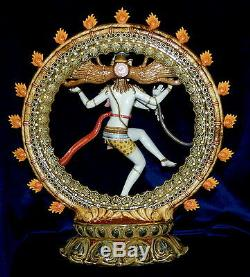 Lladro # 1947 Shiva Nataraja Marque Nib Hindu Limited Edition $ 1000 Off Livraison Gratuite