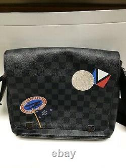 Louis Vuitton District Pm Messenger Crossbody Sac De Voyage N41054 Neuf 1620 $
