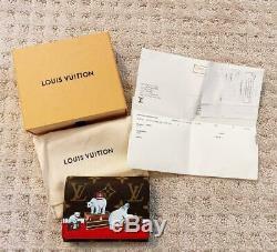 Louis Vuitton Monogram Victorine Limited Edition Polar Bear Wallet Marque Nouveau