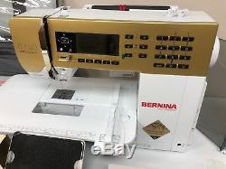 Machine À Coudre Bernina 530 Gold Limited Edition + Régulateur De Point Bsr - Tout Neuf