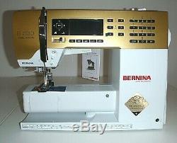 Machine À Coudre Bernina 530 Gold Limited Edition Tout Neuf Dans La Boite -garantie