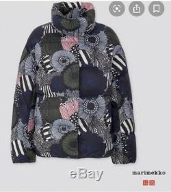 Marimekko Limited Edition Taille S Bas Doudoune Épuisé Uniqlo Brand New
