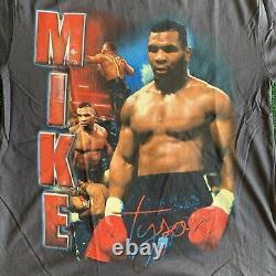 Marino Morwood Mike Tyson Vintage Style Rap Tee Size Grand Deadstock Flambant Neuf