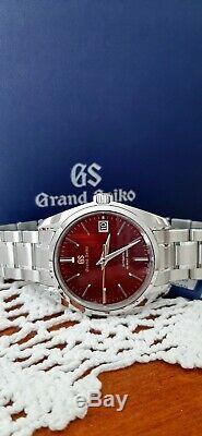 Marque New Grand Seiko Limited Edition Japon Modèle Automne Sbgh269 Jamais Worn