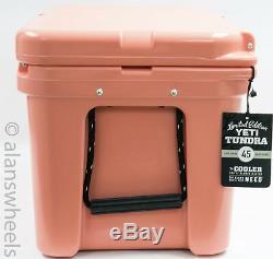 Marque New Yeti Tundra 45 Quart Cooler Coral Yt45c Edition Limitée Livraison Gratuite
