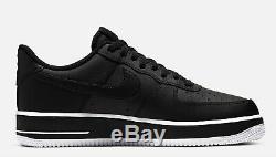 Marque Nouveau Hommes Nike Air Force 1 Low Athletic Basket Chaussures De Sport Blanc Et Noir