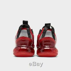Marque Nouveau Hommes Nike Air Max 720 818 Athletic Training Chaussures De Sport Rouge Et Noir
