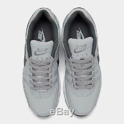 Marque Nouveau Hommes Nike Air Max Commande Athletic Training Chaussures Blanc & Gris