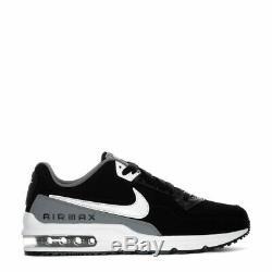 Marque Nouveau Hommes Nike Air Max Ltd 3 Athletic Cuir Noir Basketball Chaussures De Sport