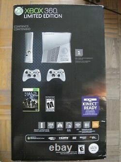 Microsoft Xbox 360 Halo Reach Limited Edition 250 Go Silver Console Brand New